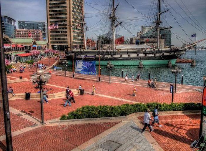 Baltimore, Maryland waterfront