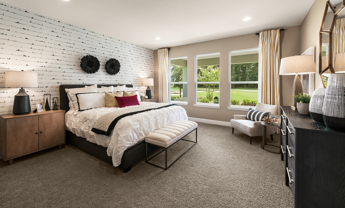 rilogy at Ocala Preserve Liberty Model Home Master