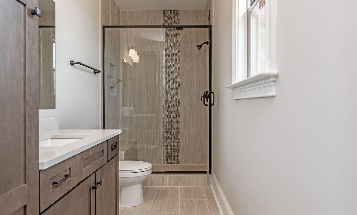 Preston plan first-floor guest suite bath