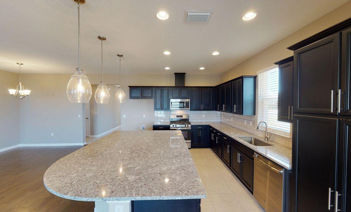 Trilogy Orlando Quick Move In Home Declare Plan Kitchen