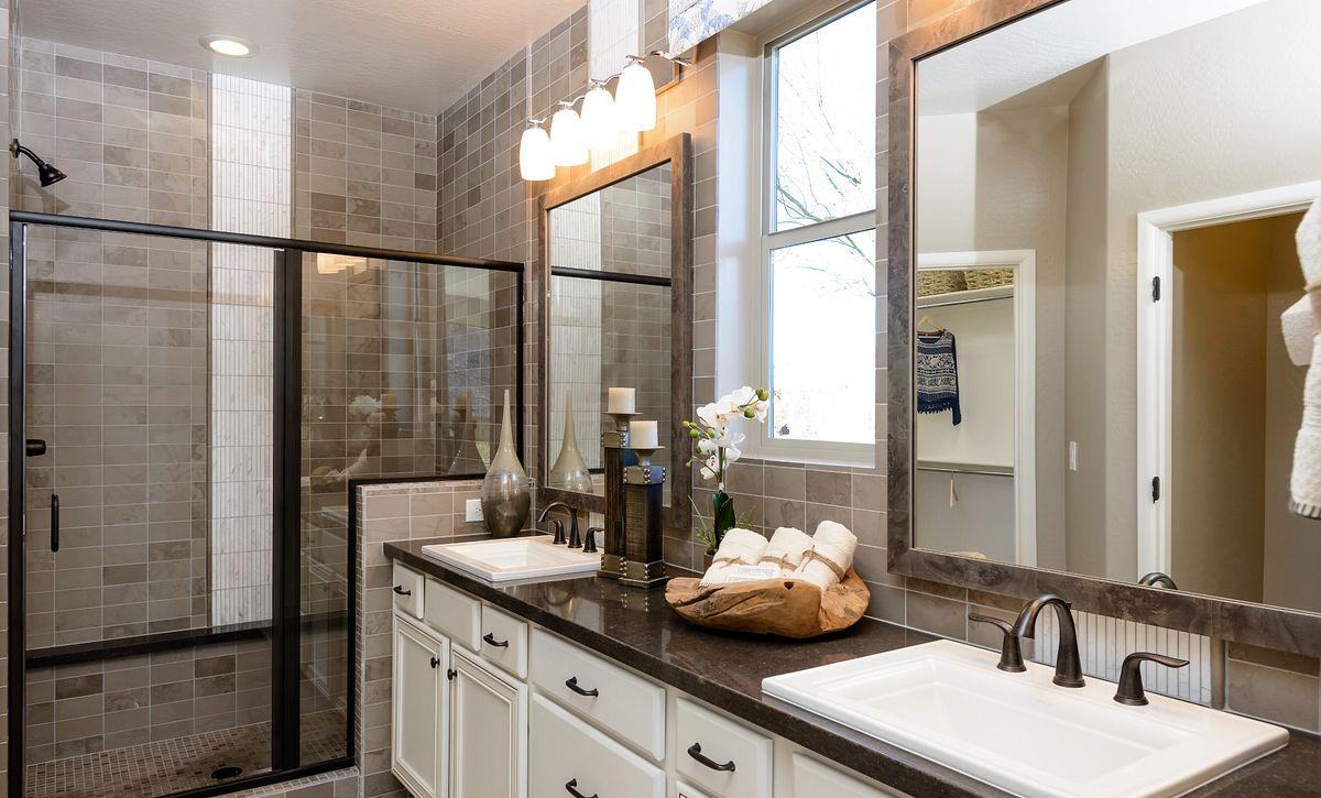 Juniper Model Master Bathroom