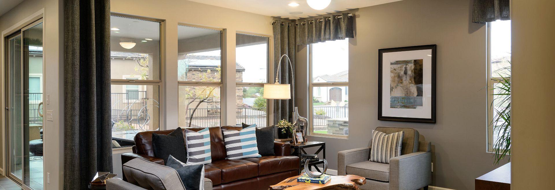 Optic Model Living Room