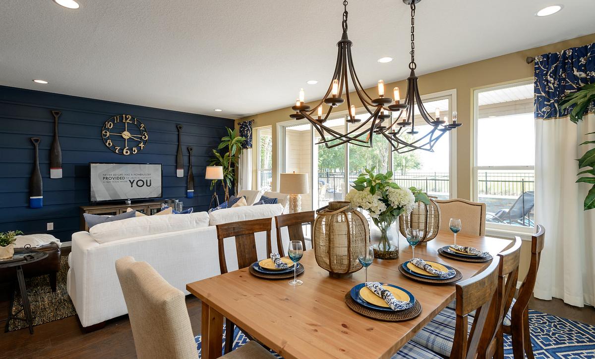 Trilogy at Ocala Preserve Refresh Model Dining Room