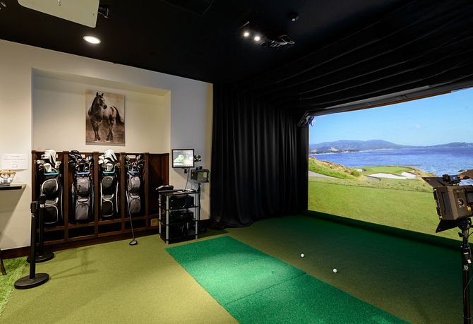 Trilogy Polo Club Golf Simulator