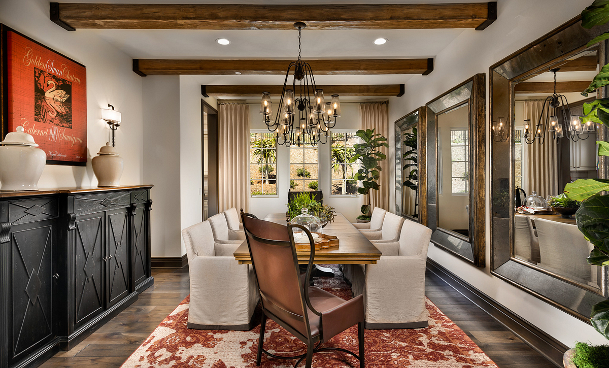 One Oak Plan 7 Dining Room