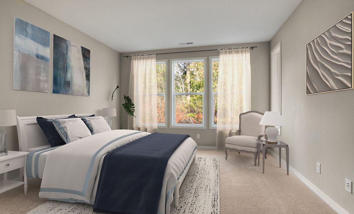 Trilogy Tehaleh Lot 4008 Master Bedroom