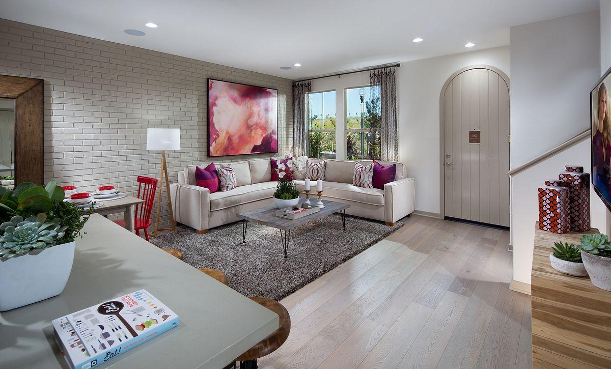 Plan 1 - Living Room