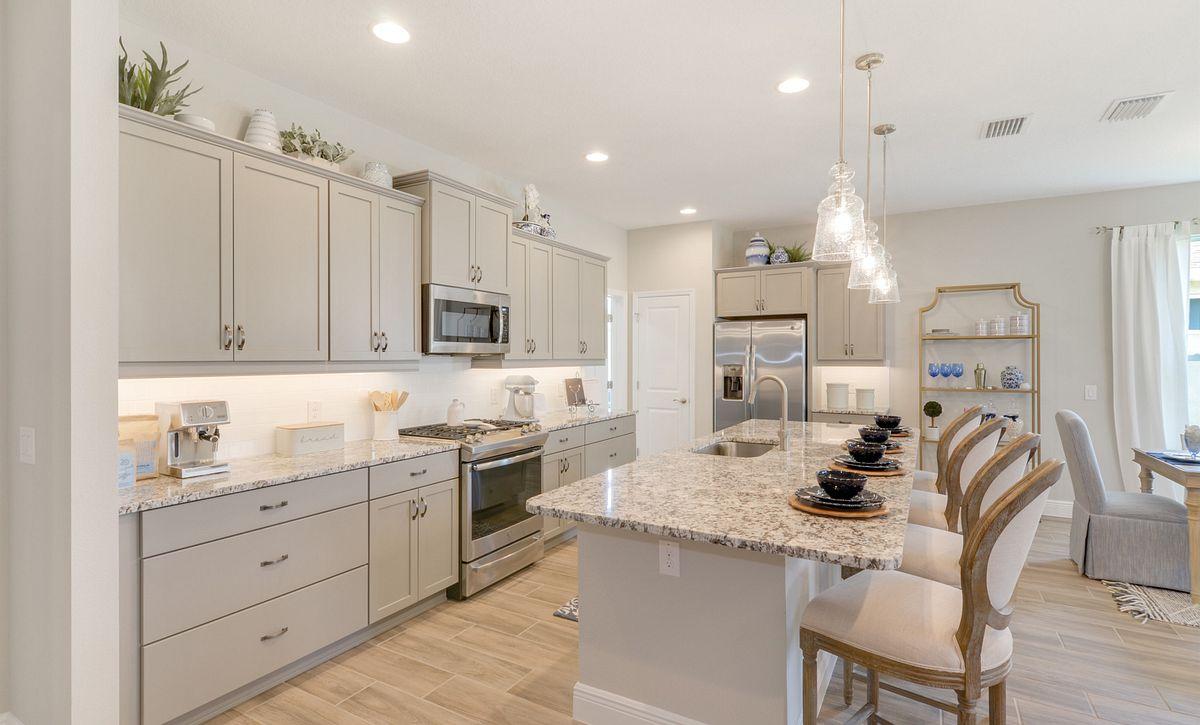 Trilogy at Ocala Preserve Affirm Model Home Kitchen