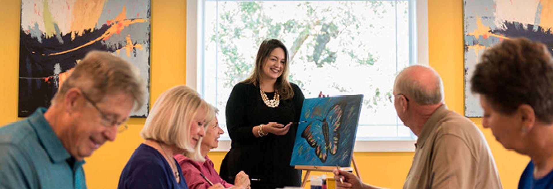Trilogy at Ocala Preserve Art Studio