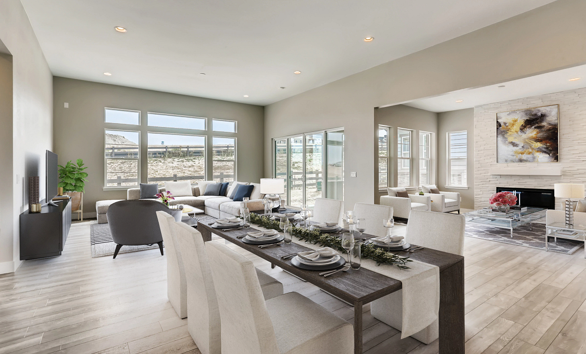 Canyons Retreat Haven QMI Lot 436 Dine, Lounge, Great Room