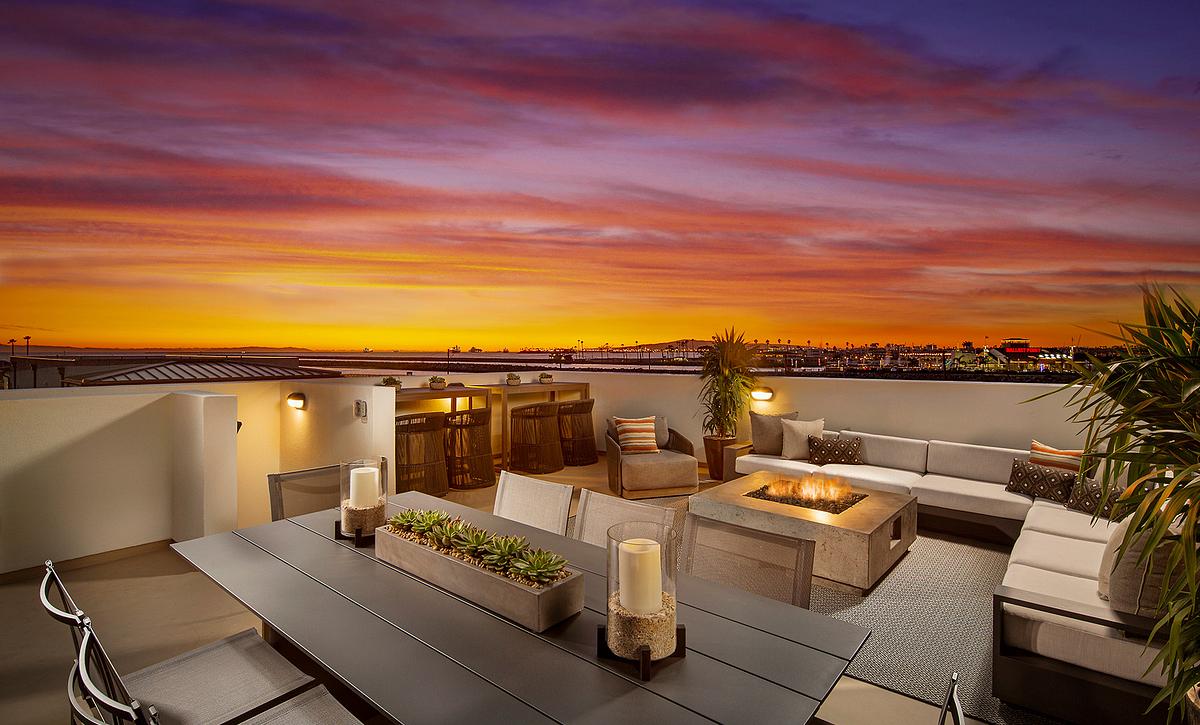 Ocean Place Plan 5 Rooftop Deck
