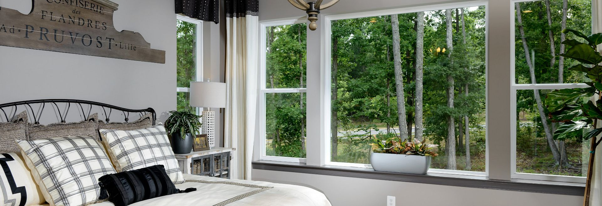 Trilogy at Lake Frederick Model Home the Engage Great Room Master Bed