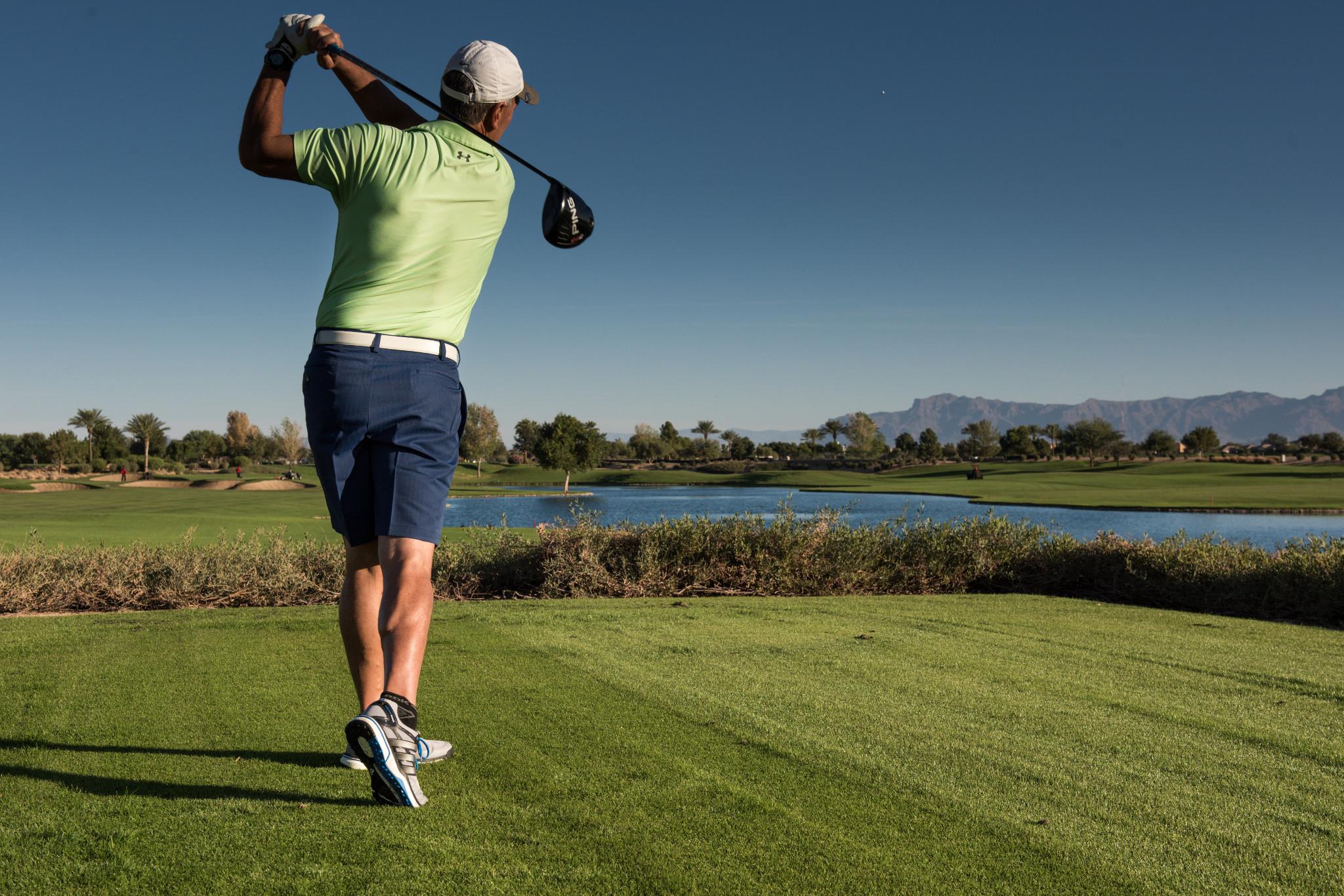 Trilogy Homeowner Golfing