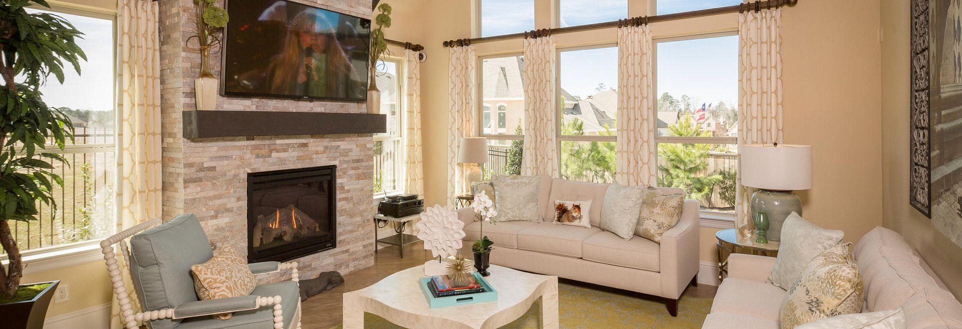 Plan 5022 Living Area