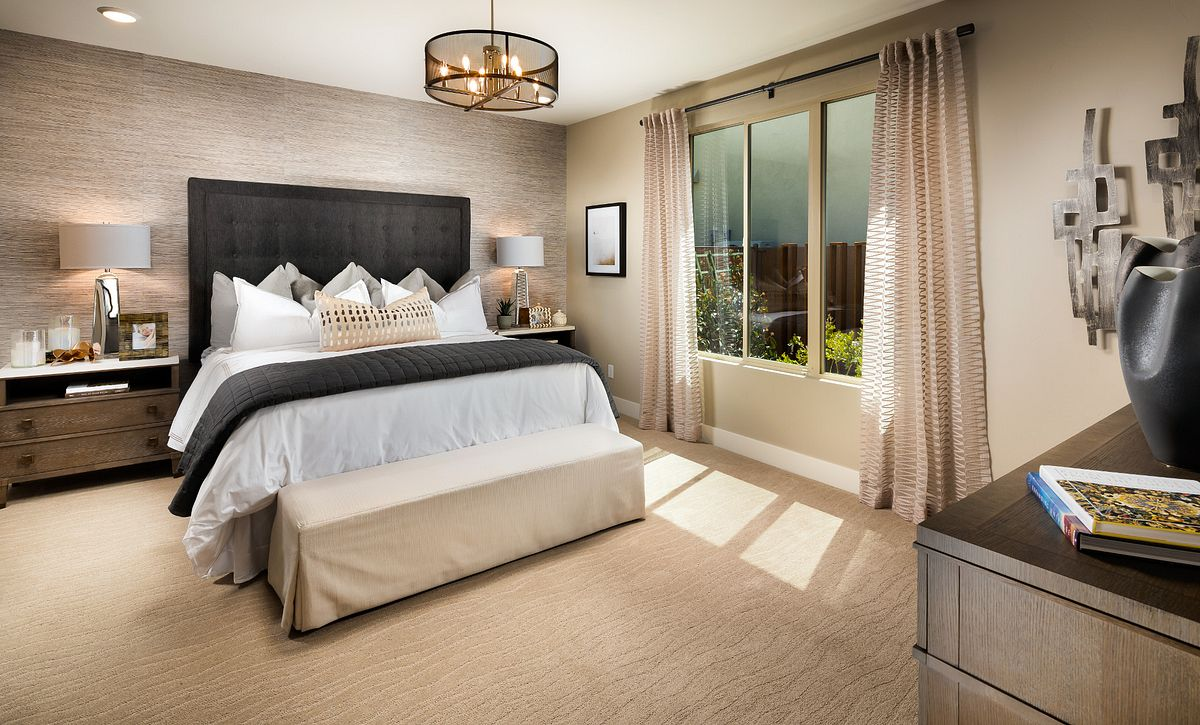 Trilogy Summerlin Retreat Master Bedroom