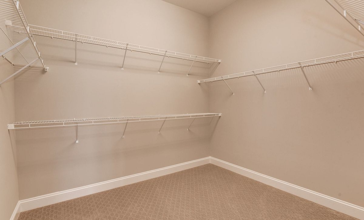 Trilogy at Lake Frederick Hensely Plan Quick Move In Walk In Closet
