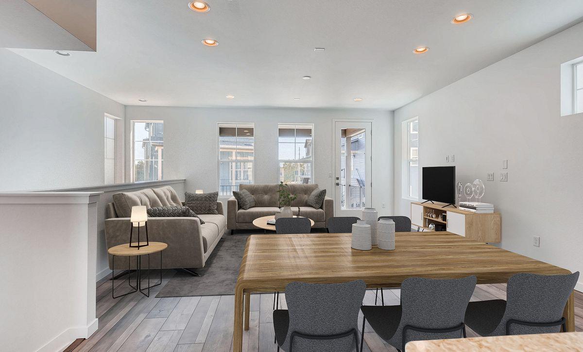 Crescendo Central Park Plan 2202 QMI Lot 55 Great Room