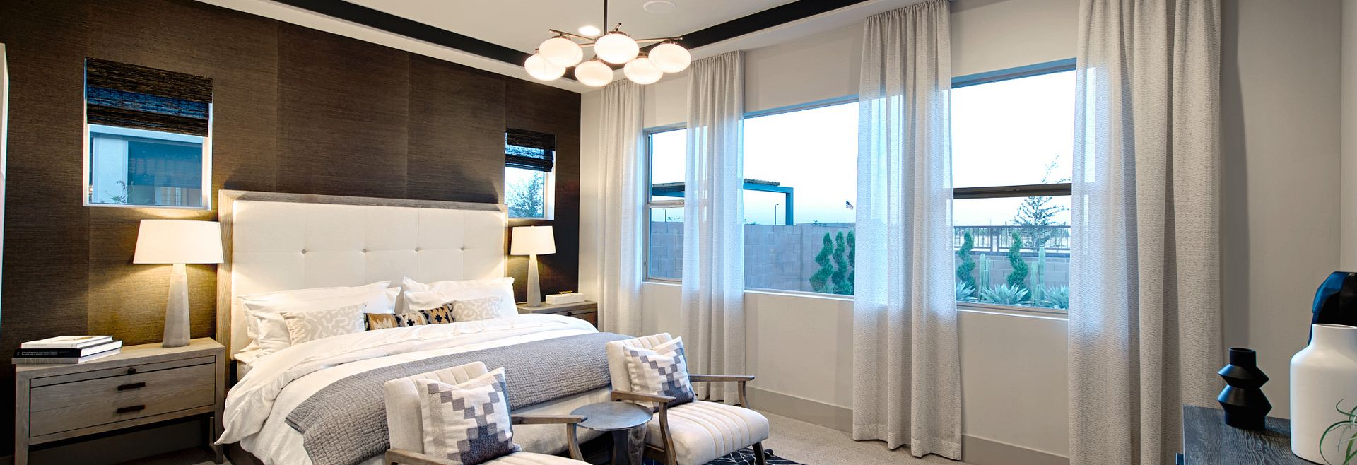 Plan 5013 Master Bedroom