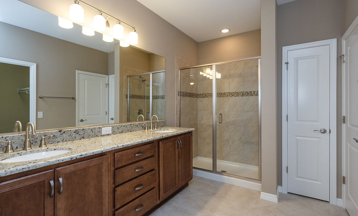 Trilogy at Ocala Preserve Quick Move In Home Naples Plan Master Bath