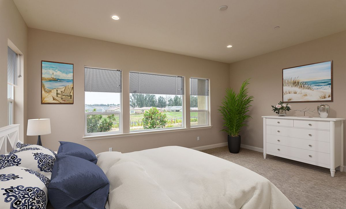 Trilogy Monarch Dunes Carmel Virtually Staged Master Bedroom