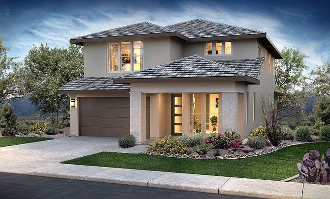 Ambition at Eastmark Hope Plan 3583 Desert Contemporary Exterior H