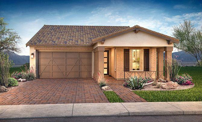 Desire Exterior C: Adobe Ranch