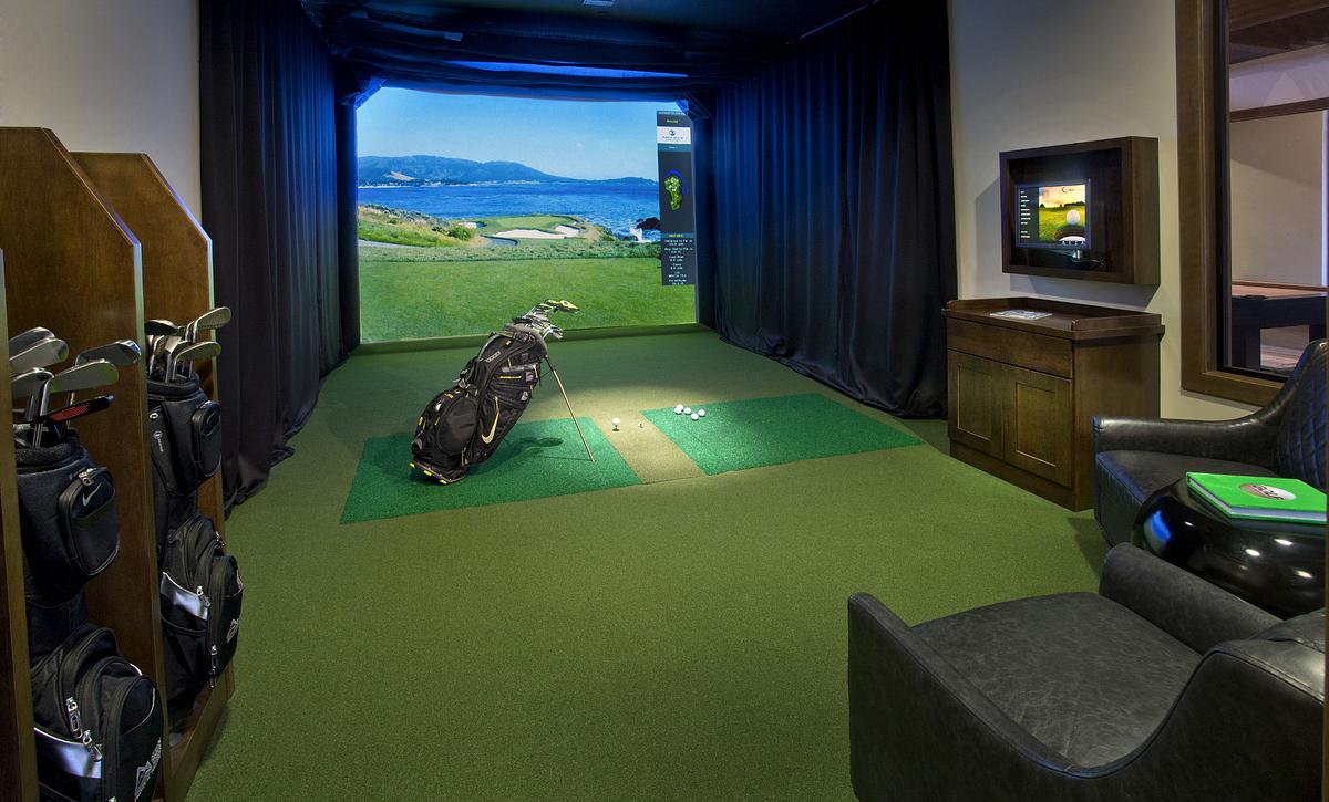 Trilogy at Tehaleh Golf Simulator