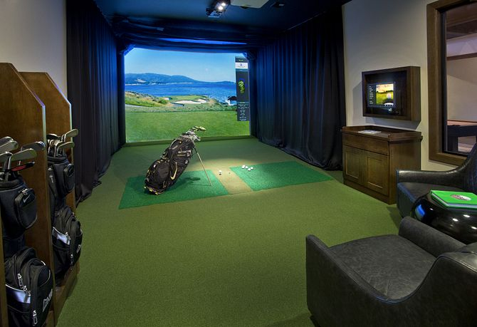 Trilogy at Tehaleh Golf Simulator