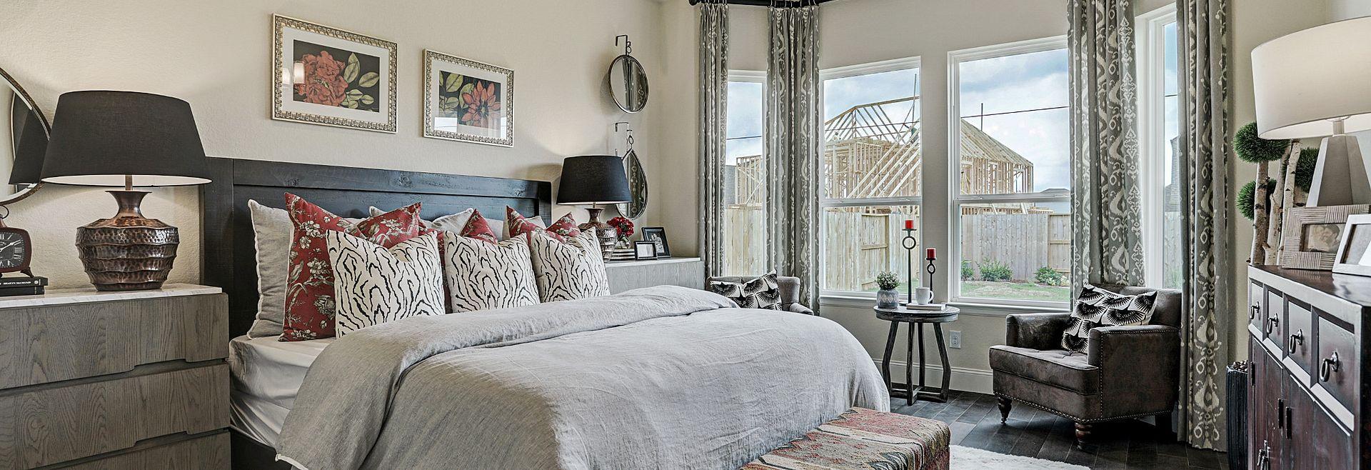 Plan 4125 Master Bedroom Meridiana Model
