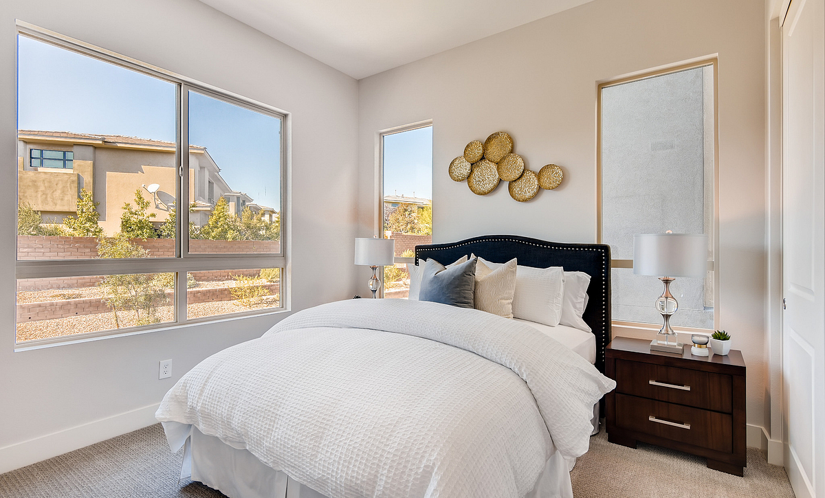 Trilogy Summerlin Inspire Guest Bedroom