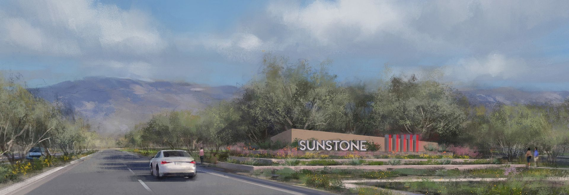 Trilogy Sunstone Entrance Rendering