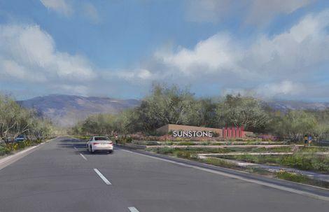 Trilogy Sunstone Community Entrance Rendered