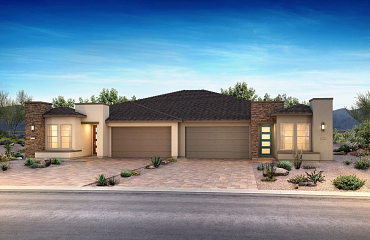 Trilogy Sunstone Evia Exterior A Left Exterior D Right Color Scheme 4 & 3