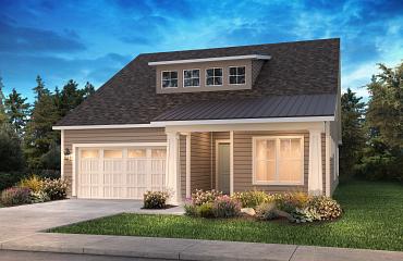 Refresh + Loft Exterior A: Modern Cottage