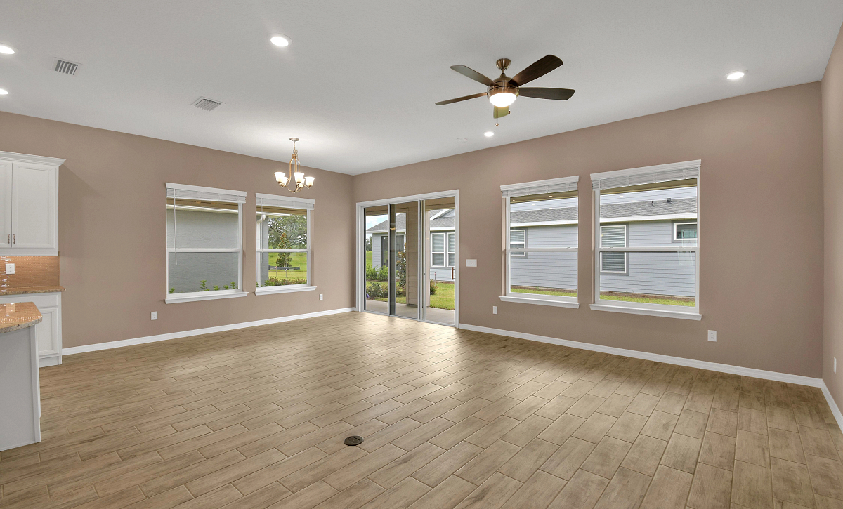 Trilogy at Ocala Preserve Quick Move In Home Imagine Plan Great Room