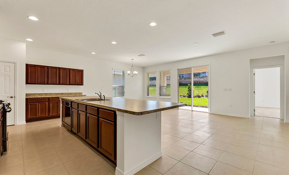 Trilogy Orlando Quick Move In Home Connect Plan Kitchen Great Room