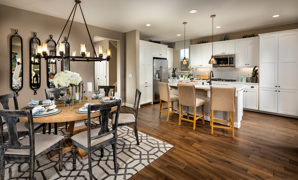 Shea Homes Rice Ranch Dining & Kitchen