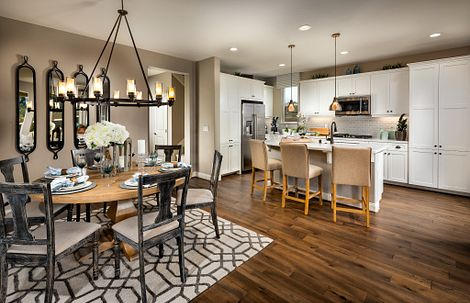 Shea Homes Rice Ranch Acacia Kitchen
