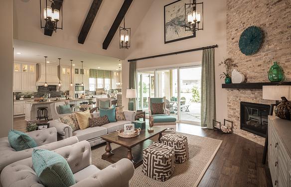 Plan 6020 Living Area
