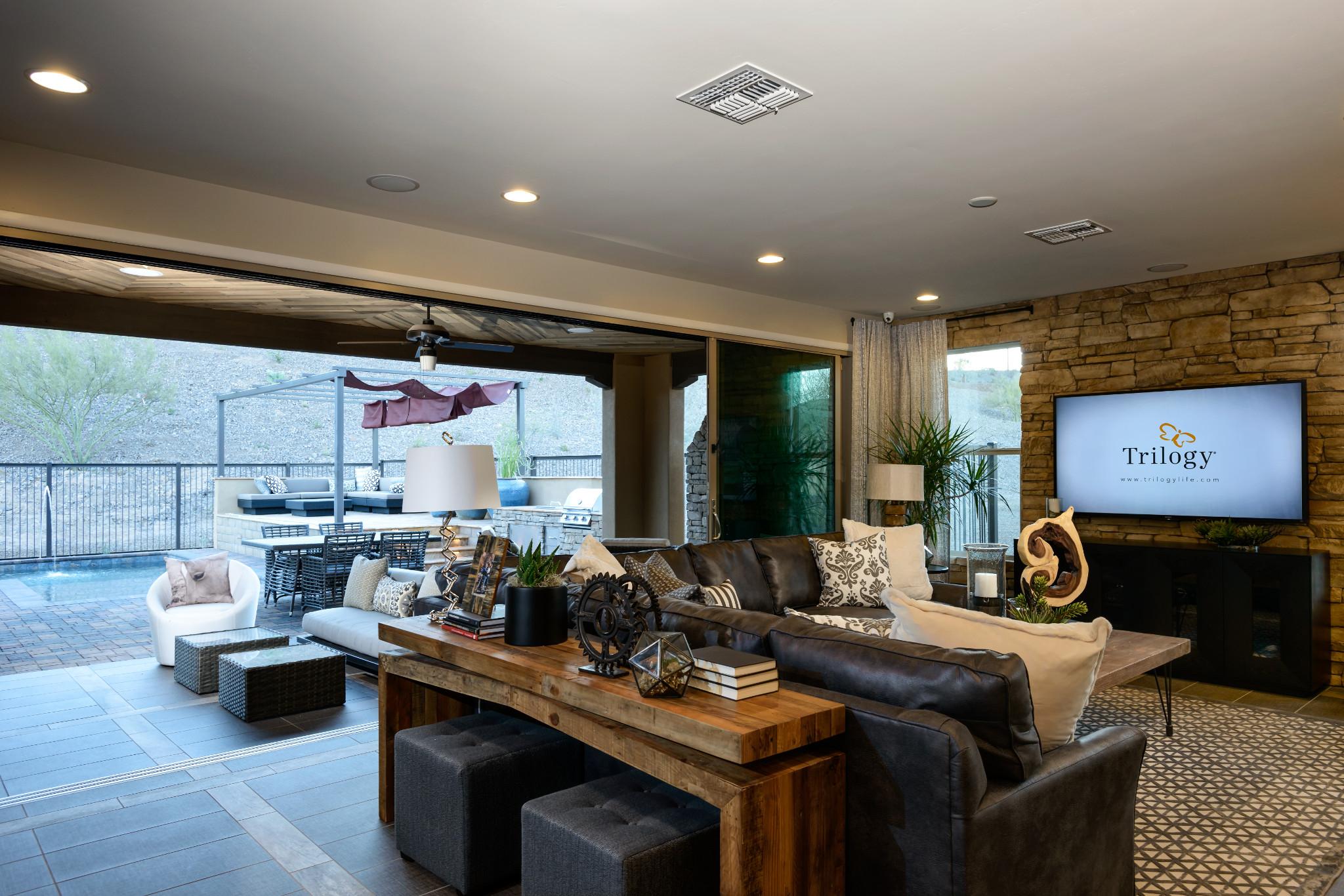 Cypress Model Great Room