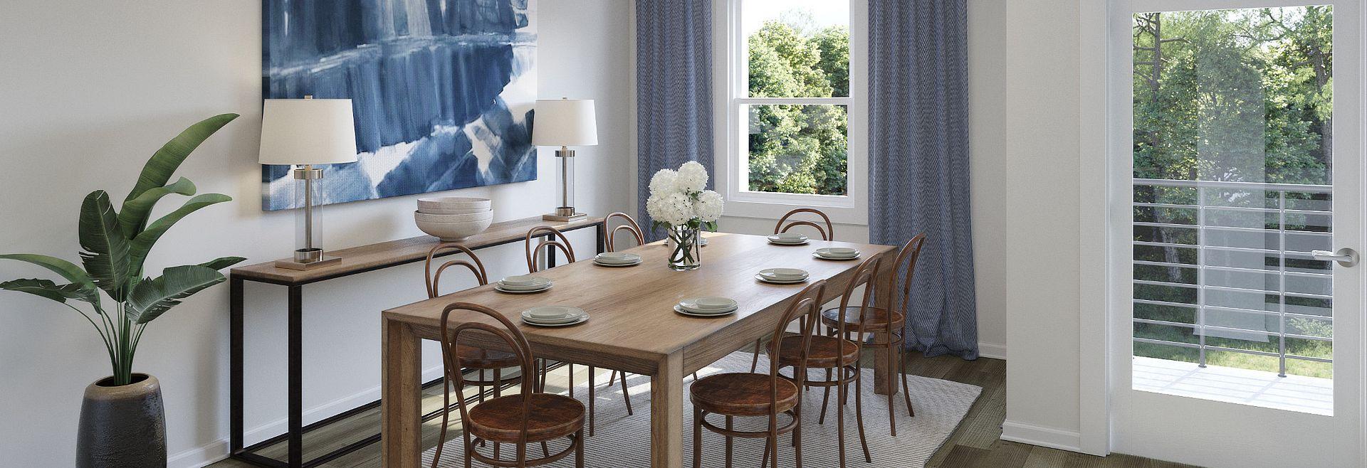 Brooklyn Plan Dining Room