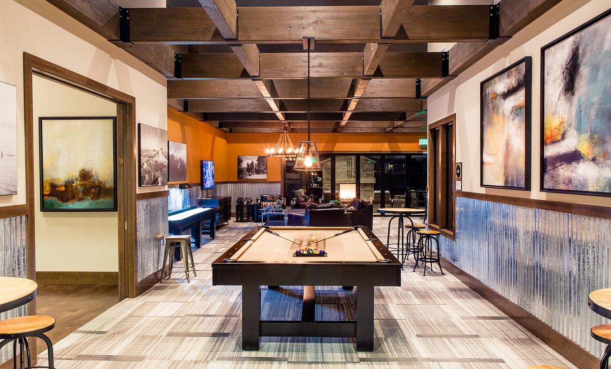 Pool Table in Hawks Nest