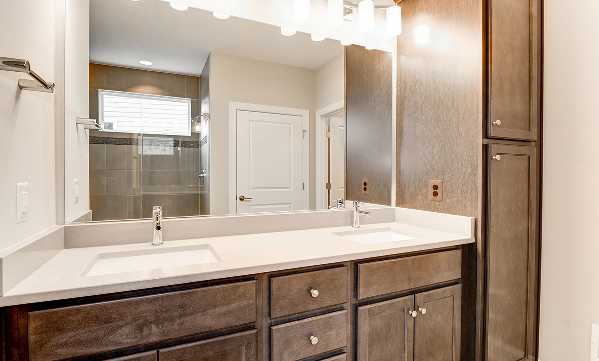 Trilogy at Lake Fredrick Quick Move In Refresh Plan Owner's Bath