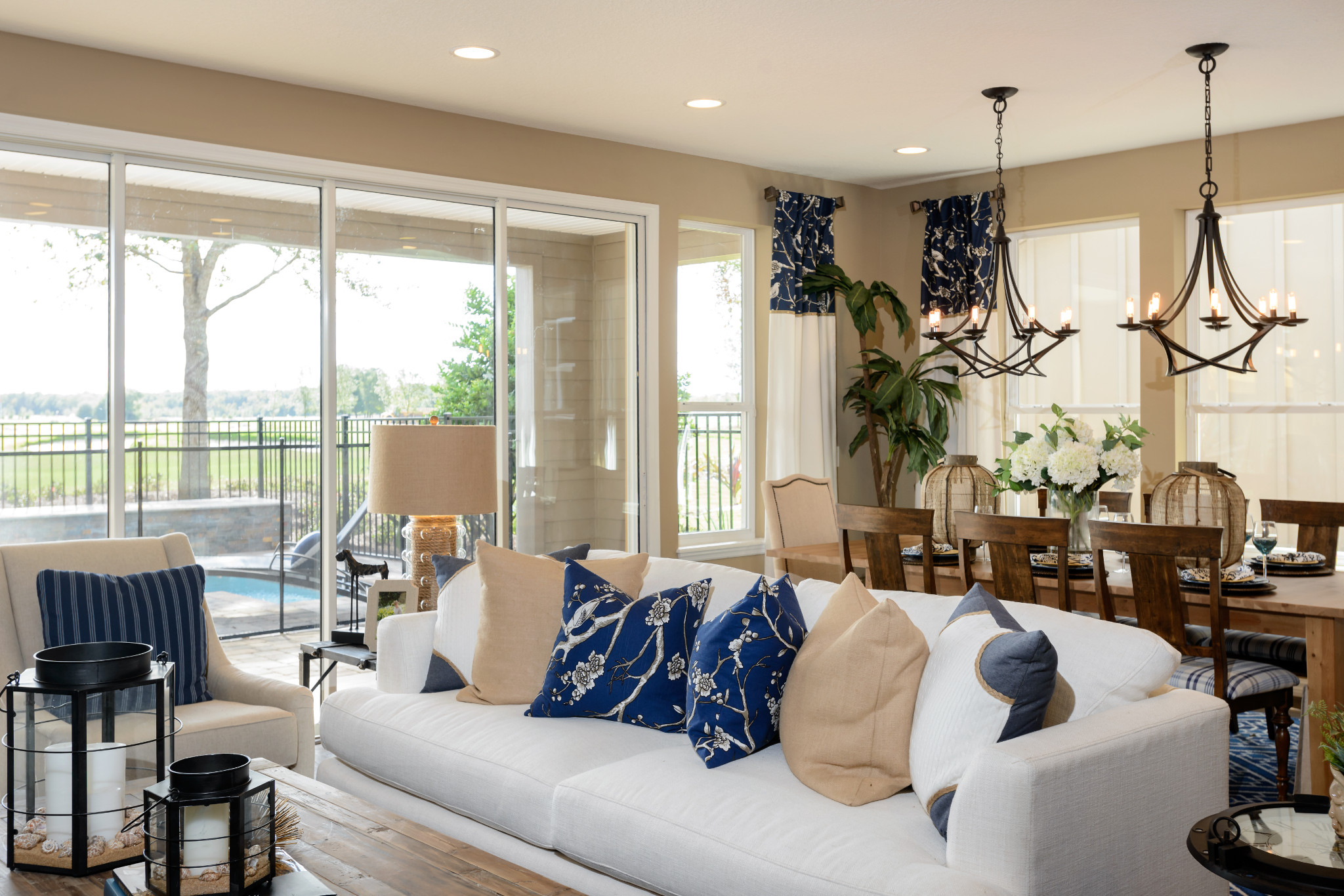 Trilogy at Ocala Preserve Refresh Model Great Room