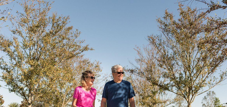 Walking trails near Trilogy at Ocala Preserve