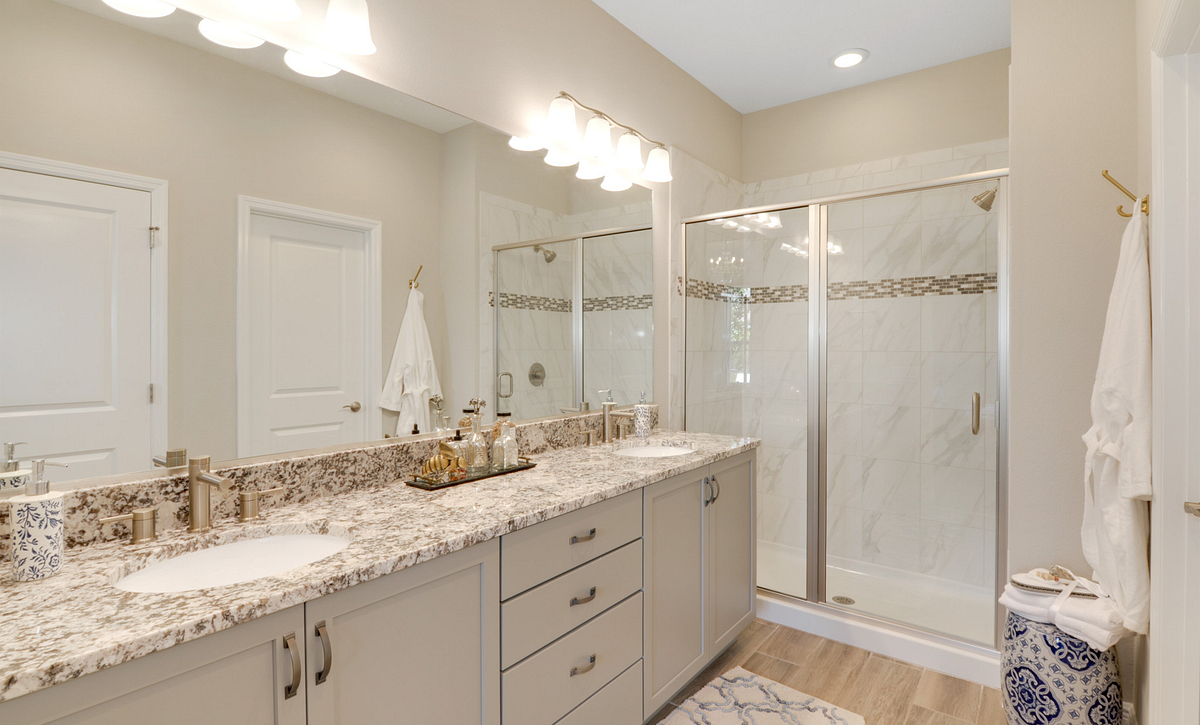 Trilogy at Ocala Preserve Affirm Model Home Master Bath