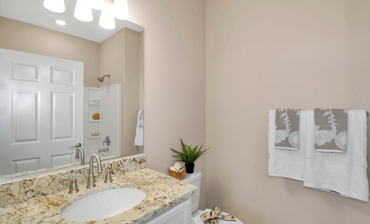 Ocala Preserve Declare Field Model Homesite 268 Guest Bath