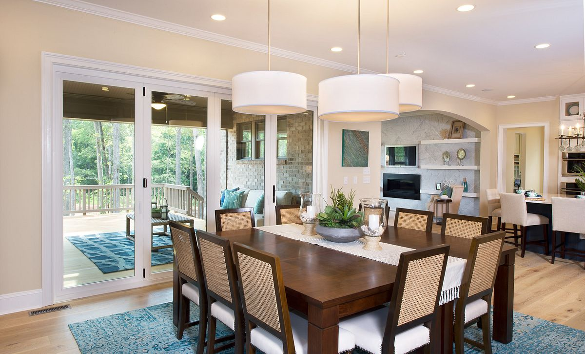 Providence Plan Morning Room with sliding doors  (example image)