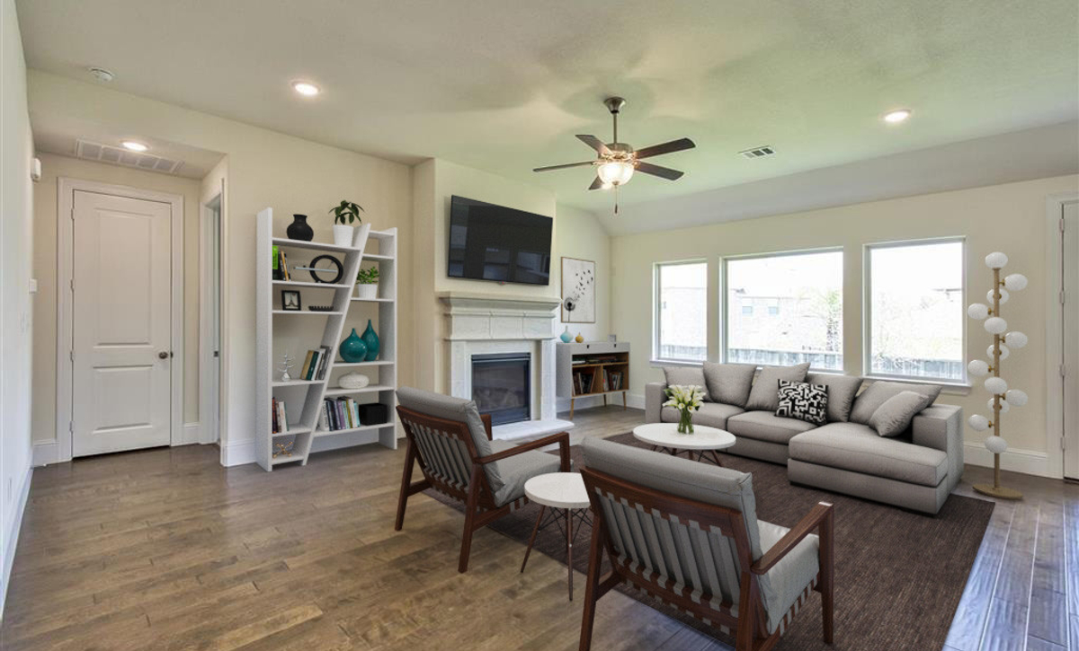 Plan 5029 Living Area