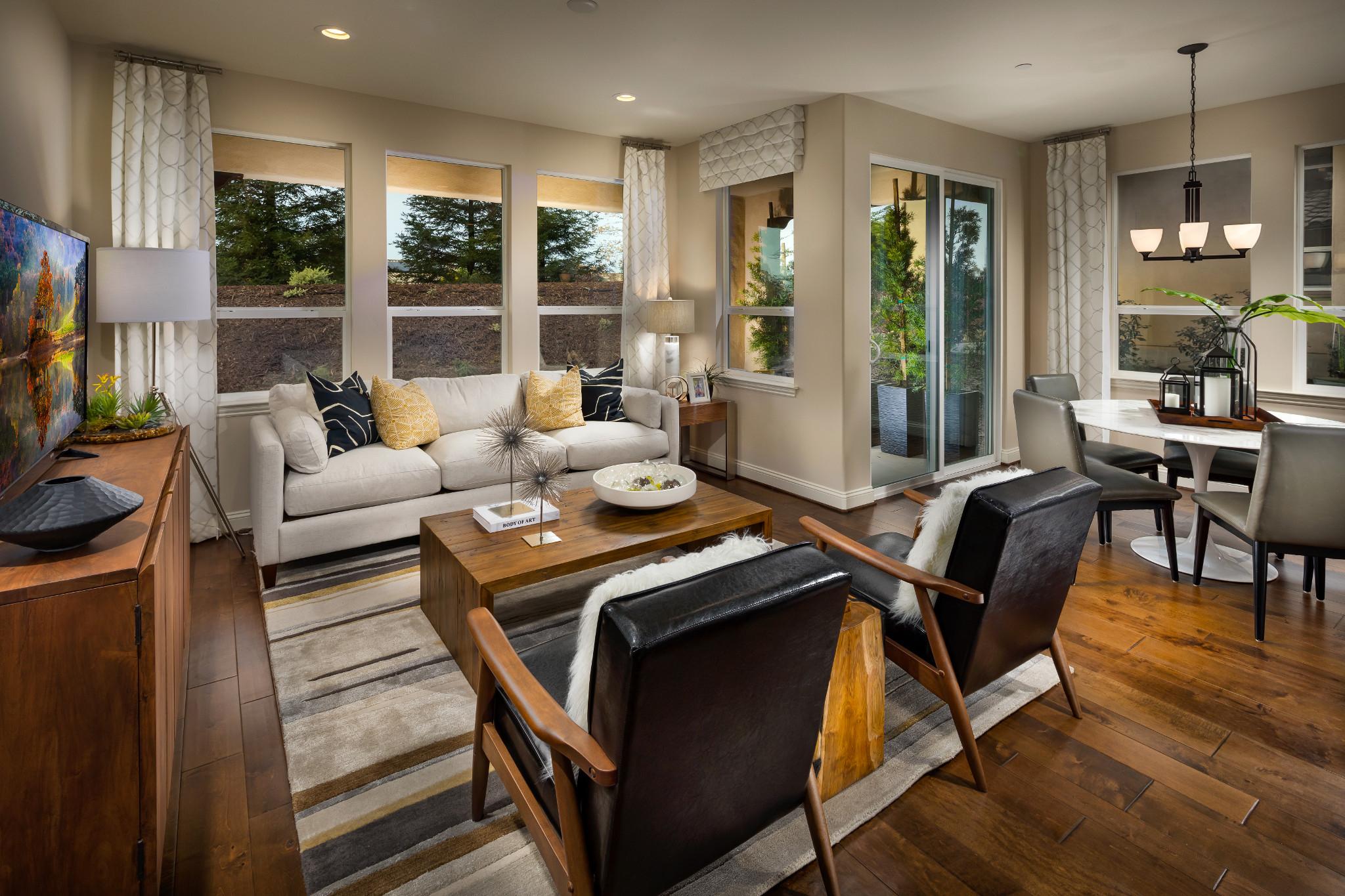 Monarch Ridge Townhomes Sage Great Room